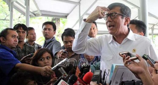 Menkum HAM Yasonna Terseret Kasus Korupsi e-KTP, Ini Reaksi Jokowi