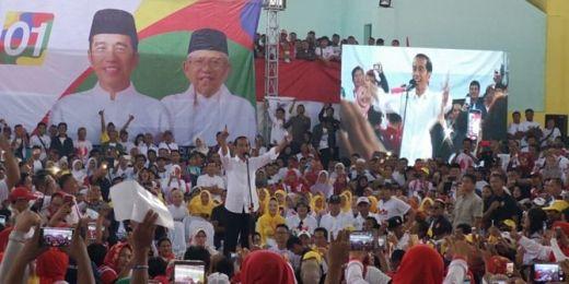 Kampanye di Sukabumi, Jokowi Makin Percaya Diri Menangkan Suara Jawa Barat