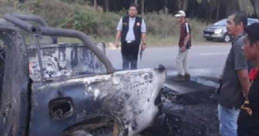 Mobil Terbakar, Ribuan Surat Suara Pemilu 2019 di Malaysia Hangus
