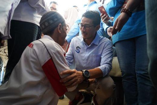 Menang di Kalimantan Selatan, Sandiaga Uno Sambangi Warga dan Ucapkan Terimakasih