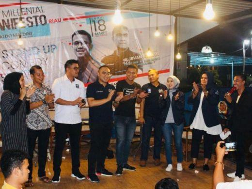 Kandaskan Caleg-caleg Senior, Irvan Herman Raih Suara Terbanyak di Dapil Kota Pekanbaru