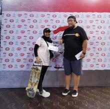 Dua Atlet Skateboard Mengejar Tiket Olimpiade ke Amerika Serikat