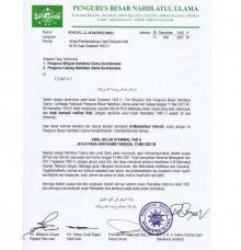 Sama dengan Muhammadiyah, PBNU Tetapkan Lebaran Idul Fitri Hari Kamis 13 Mei 2021