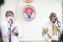Demi Kenyamanan Peserta, Klemen Tinal: 2/3 Masyarakat di Empat Kluster Akan Divaksin
