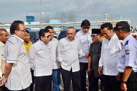 Safari Ramadan ke Riau, Setya Novanto Melihat Langsung Persiapan Mudik di Pelabuhan Dumai