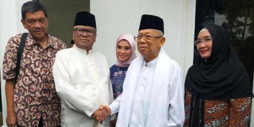 Soal Posisi Maruf Amin di Dua Bank Syariah milik BUMN, Ini Pembelaan Tim Hukum TKN
