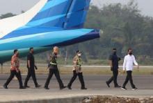 Bandara JBS Baru 70%, Jokowi Senang Runway Sudah Bisa Dipakai