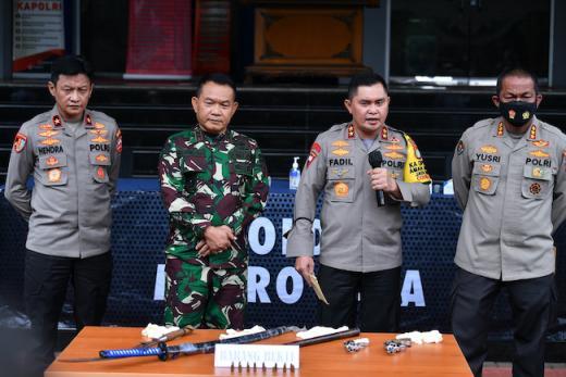 Polda Metro Jaya Adakan Pelepasan Dudung Abdurachman jadi Pangkostrad