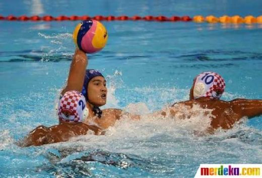 Jelang Asian Games 2018, Tim Polo Air Putra Latih Tanding Lawan Serbia