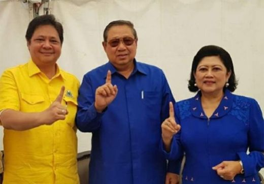 Airlangga Mesra dengan SBY, PDIP Antisipasi Jika Golkar Tinggalkan Koalisi