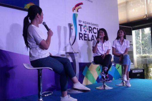 Dian Sastro dan Mikha Tambayong Sudah Tak Sabar Bawa Obor Asian Games 2018