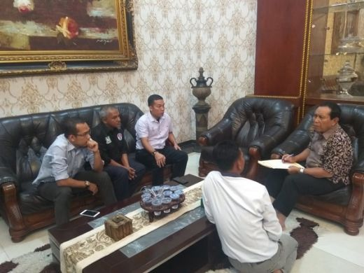 Pimpin Rapat Panpel, Bupati Sukiman Siap Sukseskan Piala Gubernur Riau