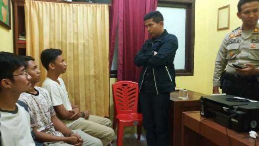 Hasil Pemeriksaan, Polisi Sebut 4 Pemuda di Inhu Tak Terbukti Kencingi Bendera Merah Putih