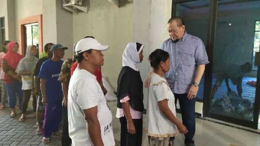 Pantau Pemotongan Hewan Kurban, La Nyalla: Idul Adha adalah Semangat Berbagi