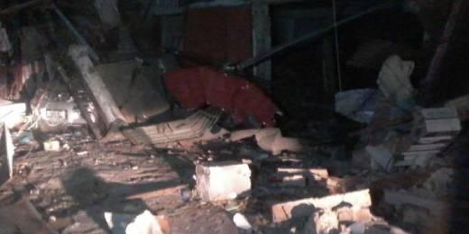 Ledakan Besar Terjadi di Makassar, Puluhan Rumah dan Toko Rusak, Puluhan Orang Diduga Terjebak Dalam Gedung