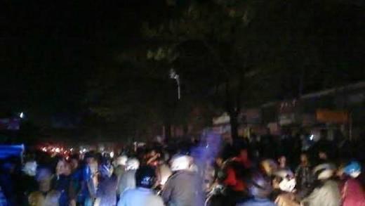 Ledakan Keras Malam Takbiran di Makassar, 3 Orang Dilarikan ke RS Bhayangkara