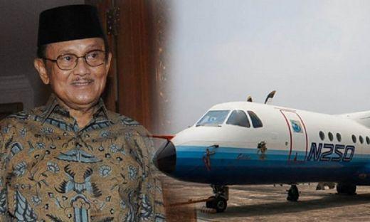 Ditunjuk sebagai Presiden Direktur PT. IPTN, produksi pesawat milik bangsa