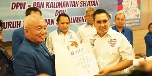 PAN Klaim Hanya Segelintir Pengurus di Kalsel yang Dukung Jokowi-Maruf