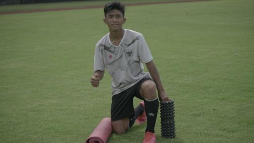 Jovan Adesta Luapkan Perasaan Gabung Timnas U 16