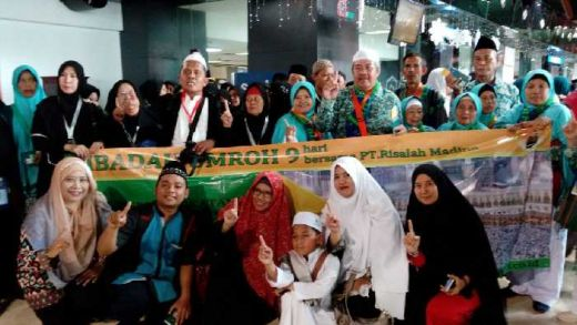 Ulang Tahun PT Risalah Madinah Tour and Travel, Berikan Layanan Umrah Khusus bagi Para Guru