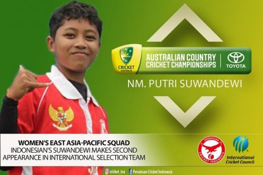 Dua Pemain Putri Timnas Indonesia Bawa ICC EAP Juarai TACCC 2020