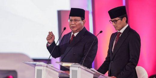Prabowo-Sandiaga Fokus Masalah Lingkungan dan Pangan di Debat Kedua
