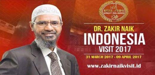 CATAT... Ini Jadwal Ceramah Dr Zakir Naik di Indonesia, 10 Hari Keliling di 6 Kota