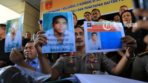Polisi Ringkus 2 Tersangka Pembunuhan Sekeluarga di Medan