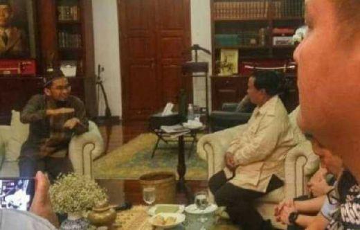 Setelah UBN dan UAS, Malam Ini UAH Juga Berikan Dukungan ke Prabowo