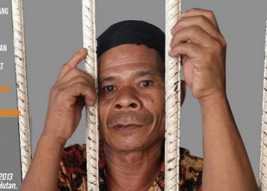 Bongku, Korban Kriminalisasi PT Arara Abadi Bebas Karena Program Asimilasi Covid-19