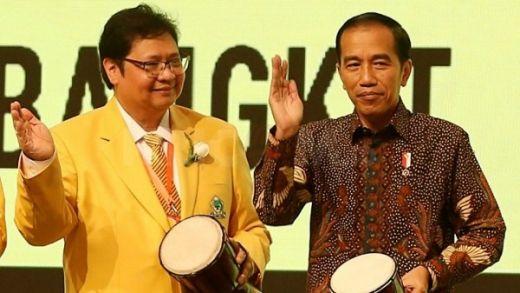 Golkar Bulat Usung Airlangga jadi Cawapres Jokowi di Pilpres 2019