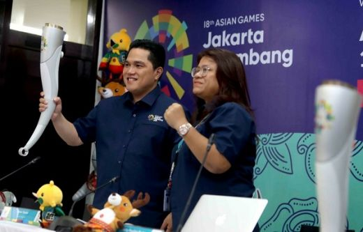 Erick Tohir: Api Asian Games Disatukan di Prambanan