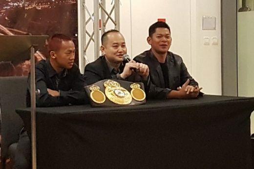 Hadapi Pertarungan WBC Internasional, Daud Yordan Lakukan Persiapan di Bali