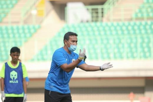 Timnas U 16 Indonesia Sudah Terbiasa Latihan dengan Protokol Kesehatan