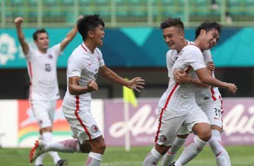 Cabor Sepakbola Asian Games, Hongkong Tumbangkan Laos 3-1
