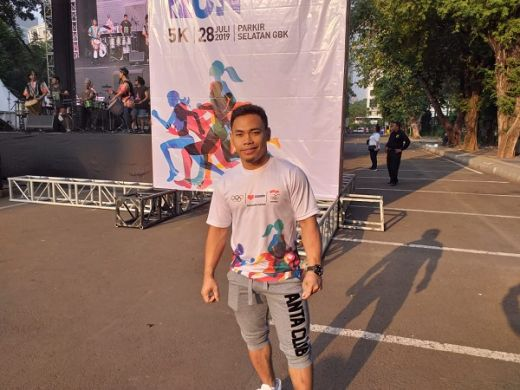 Eko Yuli Irawan Fokus Amankan Tiket ke Olimpiade Tokyo 2020