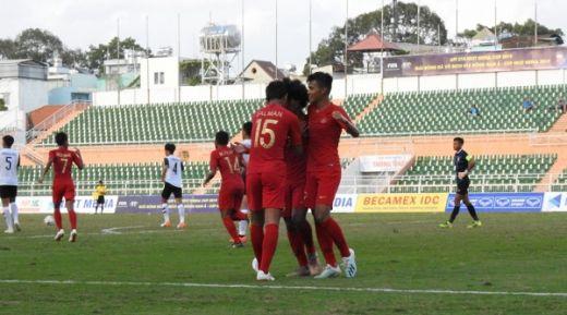 Kalahkan Laos, Timnas Indonesia Melaju ke Semifinal