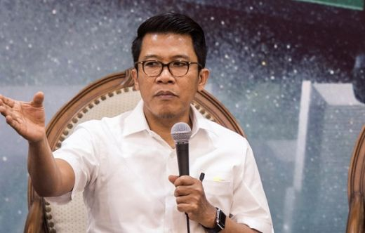 Datangi Senayan, Aliansi Pendukung KPK Minta Anggota DPR Fraksi Golkar Misbakhun, Diawasi