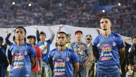 Tiga Pemain Arema FC Alami Cedera