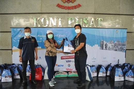 SIWO PWI Pusat Gelar Bhakti Sosial Pandemi Covid 19