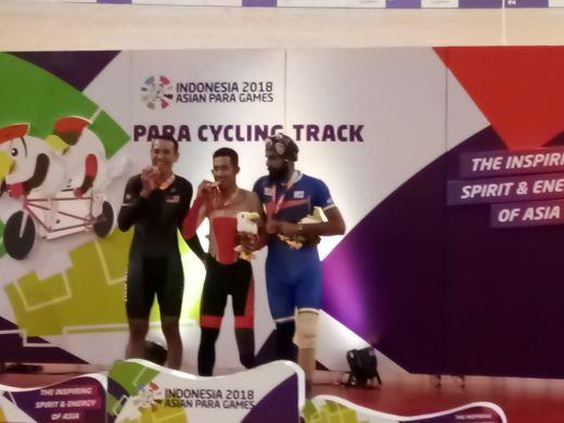 M Fadli Ukir Sejarah Jadi Pebalap Pertama Para Cycling Indonesia Peraih Emas
