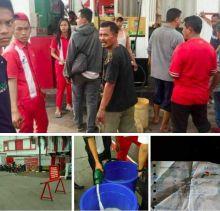 Keterlaluan, Gara-gara Supir Mogok, Pertamina Distribusikan BBM yang Dicampur Air