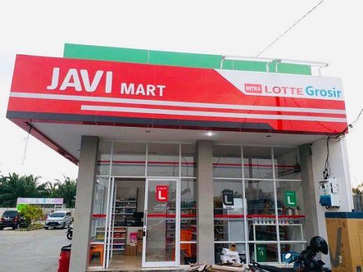 Mudahkan Masyarakat Berbelanja, Lotte Grosir Hadir Perdana di SPBU Tenayan Raya