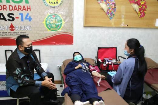 Bamsoet Ajak Jadikan Donor Darah Sebagai Gaya Hidup