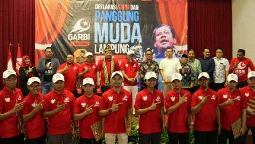 Dihadapan Ratusan Massa GARBI Lampung, Fahri Ungkap Harapannya di Tahun Baru
