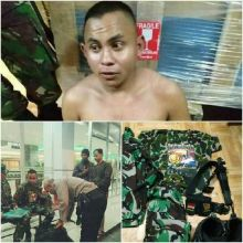 Ngaku Anggota Marinir, Oknum Banser Asal Kendari Ditangkap di Makassar