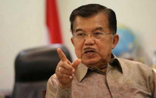 Soal Laporan Banser ke Istana, JK Bantah PNS dan Pegawai BUMN Banyak Dukung Negara Khilafah