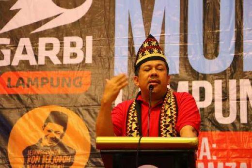Soal Deklarasi Garbi Bandung Dukung Jokowi, Fahri Hamzah: Hoax