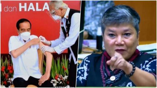 Jokowi Divaksin Pertama, Ribka: Jangan Ada Dusta, Bisa Saja Itu Bukan Sinovac!