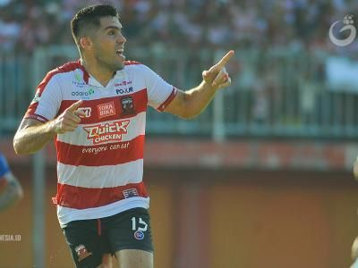 Fabiano Beltrame Pamit Dari Madura United FC
